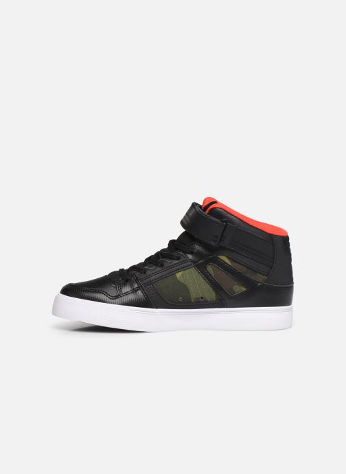 Baskets DC Shoes Pure High-Top SE EV Noir vue face