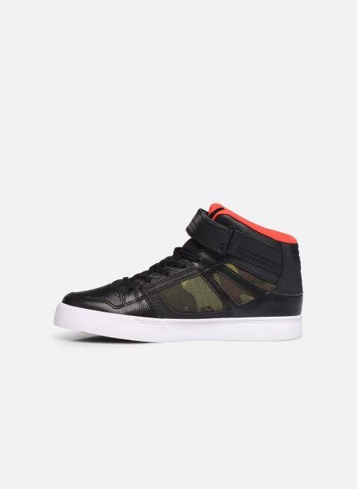 Baskets DC Shoes Pure High-Top SE EV Noir vue face