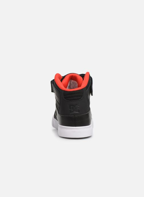 Baskets DC Shoes Pure High-Top SE EV Noir vue droite