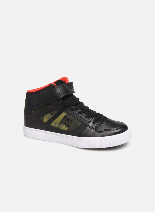 Baskets DC Shoes Pure High-Top SE EV Noir vue détail/paire