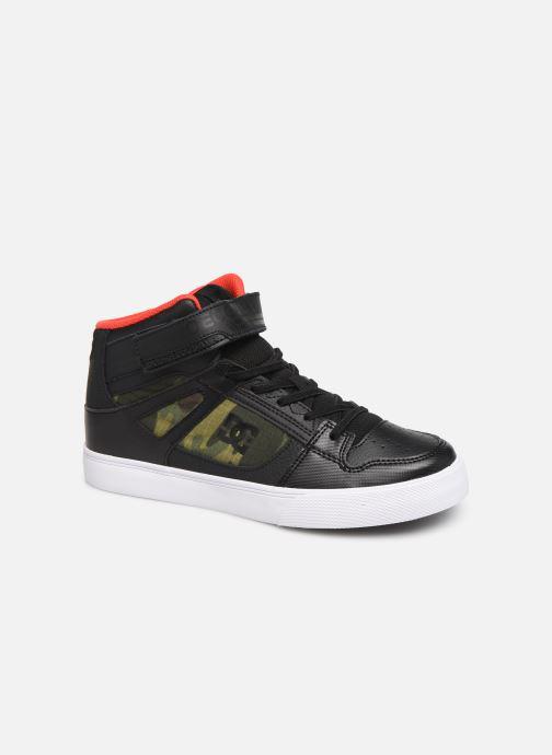 Baskets DC Shoes Pure High-Top SE EV Noir vue détail/paire