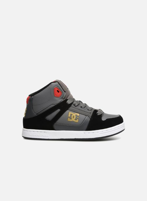 Trainers DC Shoes Pure High Top Grey back view