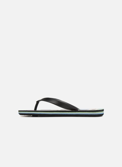 Tongs Quiksilver Molokai Resin Check Youth Multicolore vue face