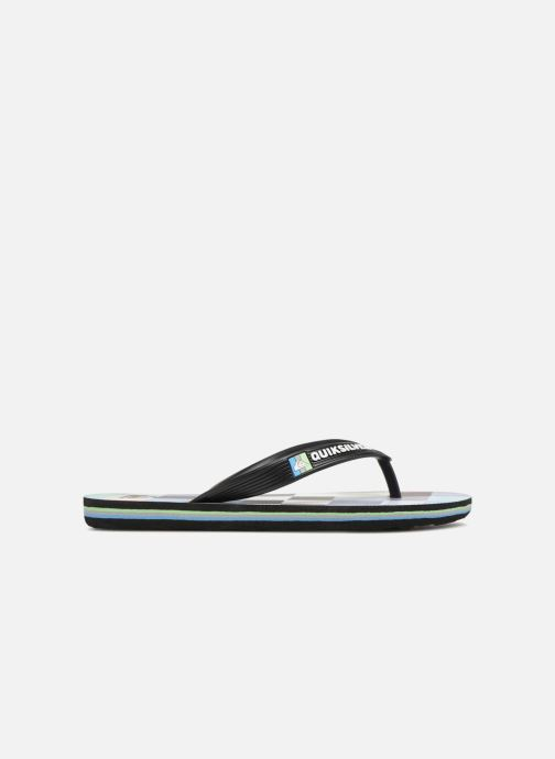 Tongs Quiksilver Molokai Resin Check Youth Multicolore vue derrière