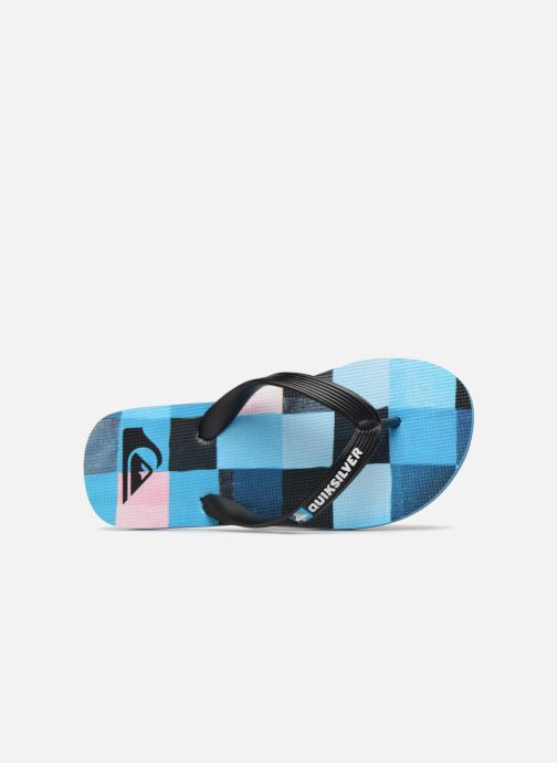 Flip flops Quiksilver Molokai Resin Check Youth Multicolor view from the left