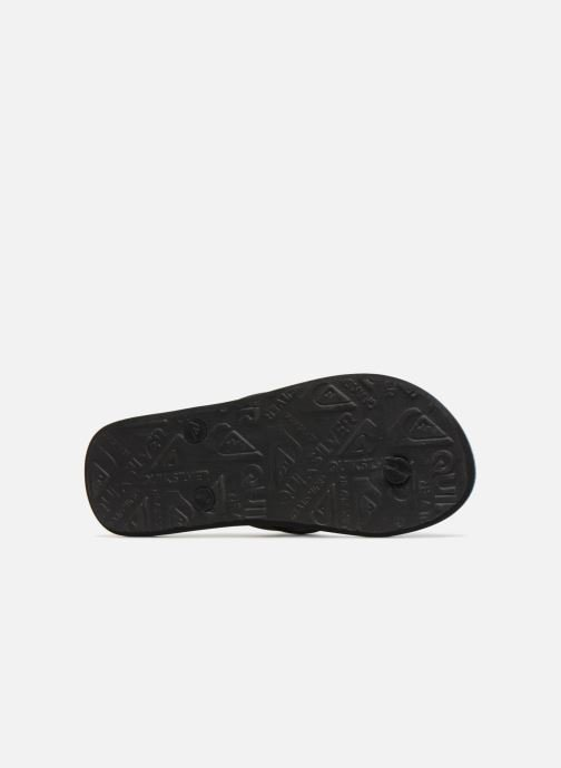 Flip flops Quiksilver Molokai Resin Check Youth Multicolor view from above