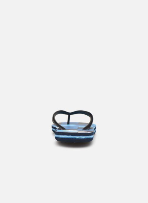 Flip flops Quiksilver Molokai Resin Check Youth Blue view from the right