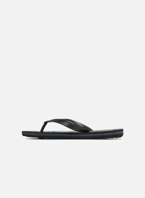 Chanclas Quiksilver Molokai Wordmark Youth Negro vista de frente