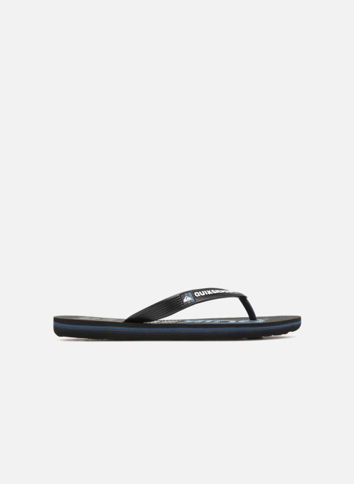 Chanclas Quiksilver Molokai Wordmark Youth Negro vistra trasera