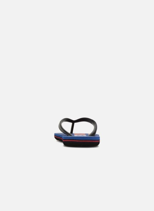 Flip flops Quiksilver Molokai Wordmark Youth Blue view from the right