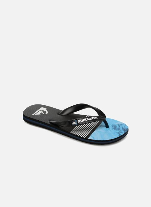 Flip flops Quiksilver Molokai Highline Slab Youth Black detailed view/ Pair view