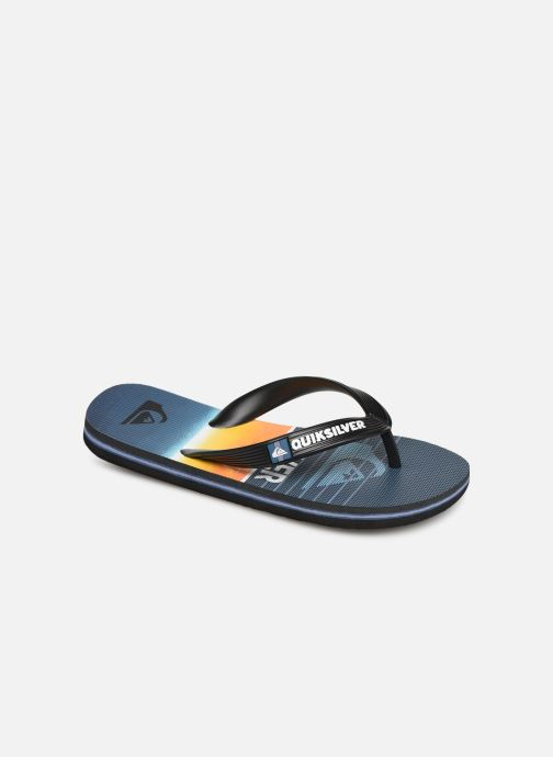 Flip flops Quiksilver Molokai Highline Slab Youth Blue detailed view/ Pair view