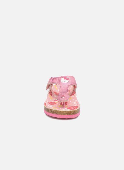 Sandales et nu-pieds Hello Kitty Veniti Rose vue portées chaussures