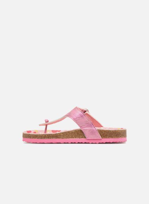 Sandales et nu-pieds Hello Kitty Veniti Rose vue face