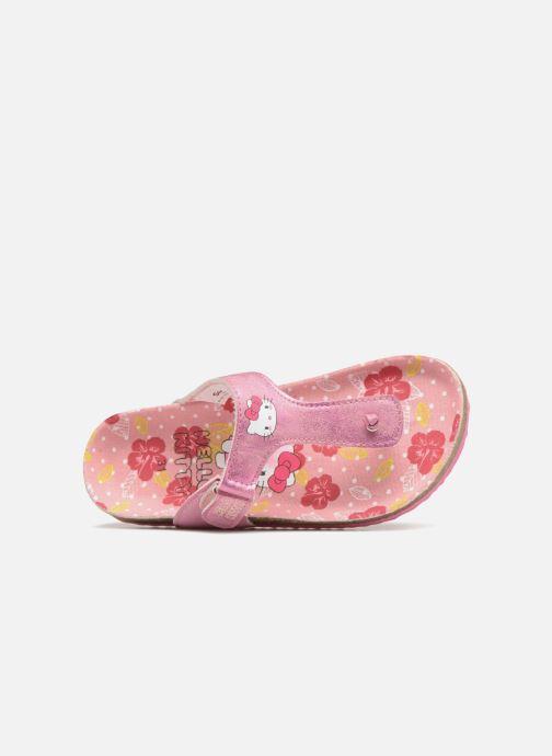 Sandales et nu-pieds Hello Kitty Veniti Rose vue gauche
