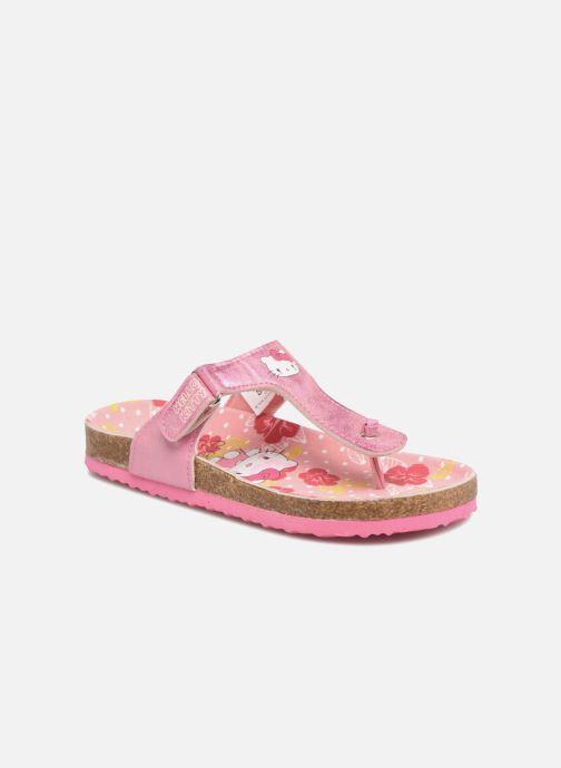 Sandales et nu-pieds Hello Kitty Veniti Rose vue détail/paire