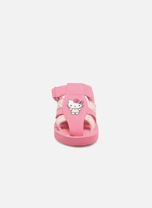 Sandales et nu-pieds Hello Kitty Haciba Rose vue portées chaussures