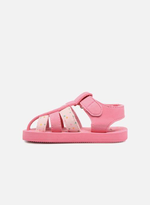 Sandalen Hello Kitty Haciba rosa ansicht von vorne