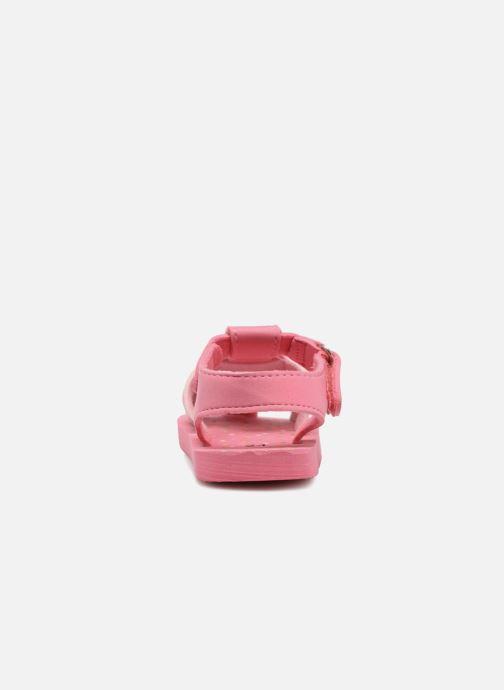Sandalen Hello Kitty Haciba rosa ansicht von rechts