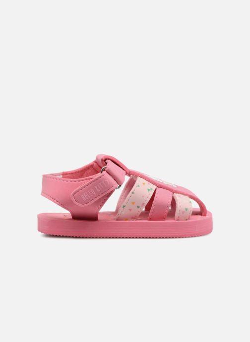 Sandalen Hello Kitty Haciba rosa ansicht von hinten
