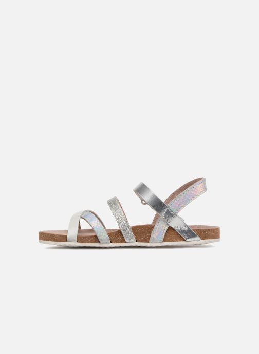 Sandalen Mod8 Kornelia silber ansicht von vorne