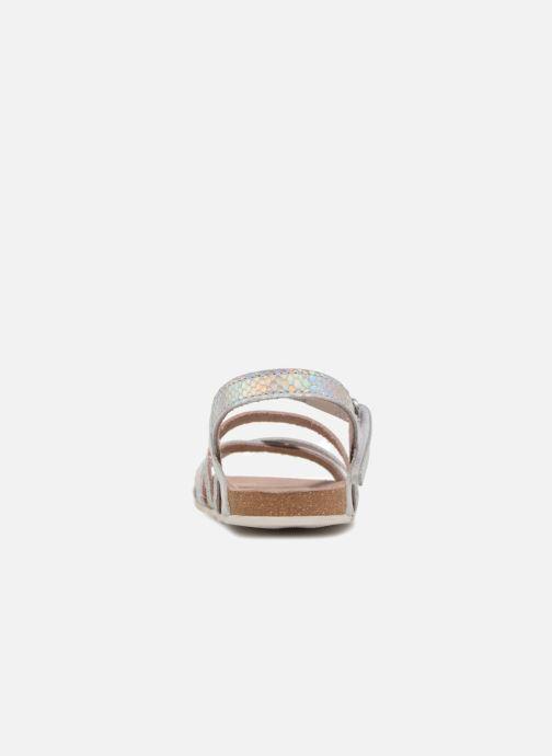 Sandalen Mod8 Kornelia silber ansicht von rechts