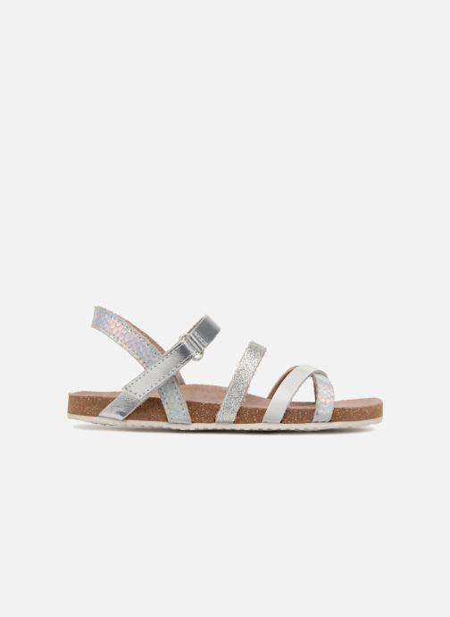 Sandalen Mod8 Kornelia silber ansicht von hinten