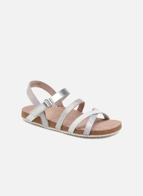 Sandales et nu-pieds Mod8 Kornelia Argent vue détail/paire