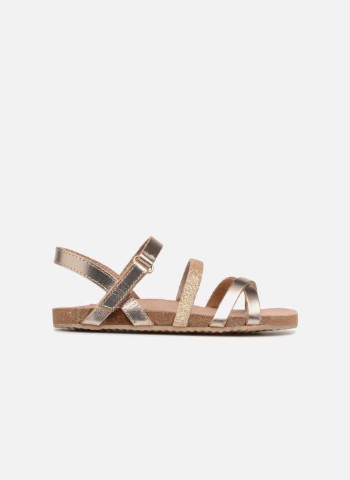 Sandales et nu-pieds Mod8 Kornelia Or et bronze vue derrière