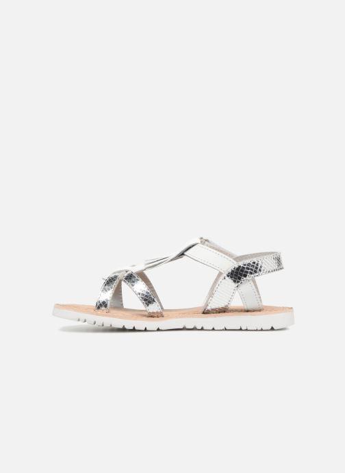 Sandales et nu-pieds Mod8 Shouette Argent vue face