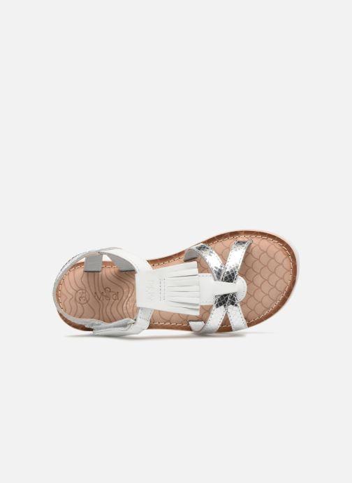 Sandales et nu-pieds Mod8 Shouette Argent vue gauche