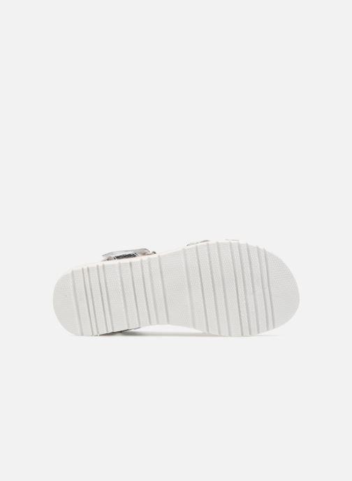Sandales et nu-pieds Mod8 Shouette Argent vue haut