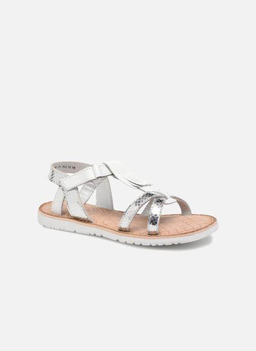 Sandales et nu-pieds Mod8 Shouette Argent vue détail/paire