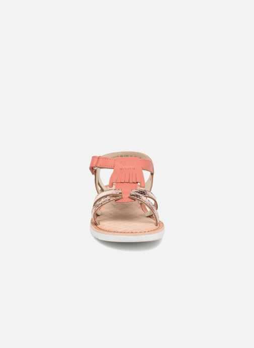 Sandales et nu-pieds Mod8 Shouette Rose vue portées chaussures