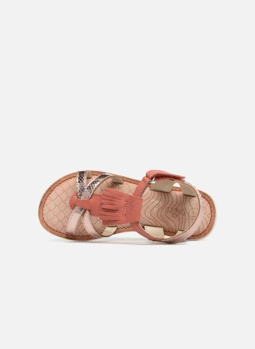 Sandales et nu-pieds Mod8 Shouette Rose vue gauche