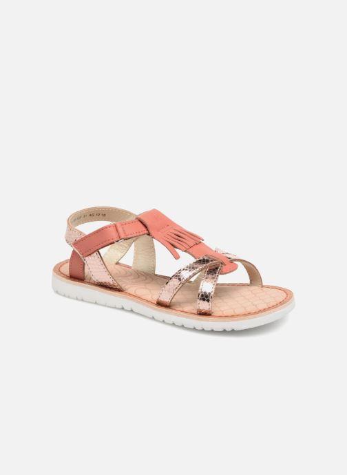 Sandales et nu-pieds Mod8 Shouette Rose vue détail/paire