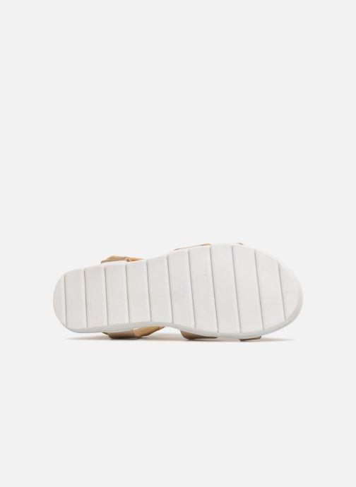 Sandales et nu-pieds Mod8 Dallas Or et bronze vue haut