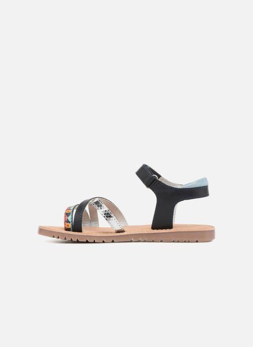 Sandales et nu-pieds Mod8 Shelguy Bleu vue face