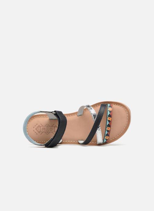 Sandales et nu-pieds Mod8 Shelguy Bleu vue gauche