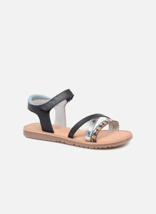 Sandales et nu-pieds Mod8 Shelguy Bleu vue détail/paire