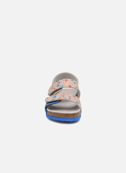 Sandales et nu-pieds Mod8 Darkou Gris vue portées chaussures