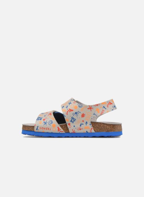 Sandales et nu-pieds Mod8 Darkou Gris vue face