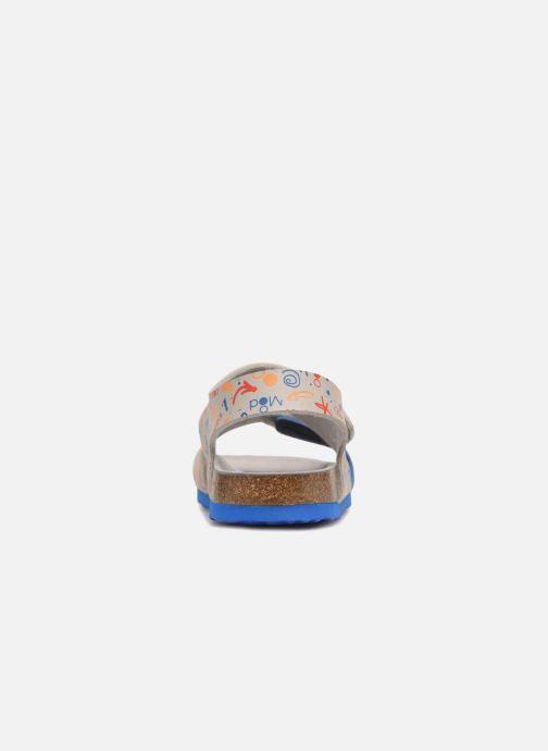 Sandales et nu-pieds Mod8 Darkou Gris vue droite