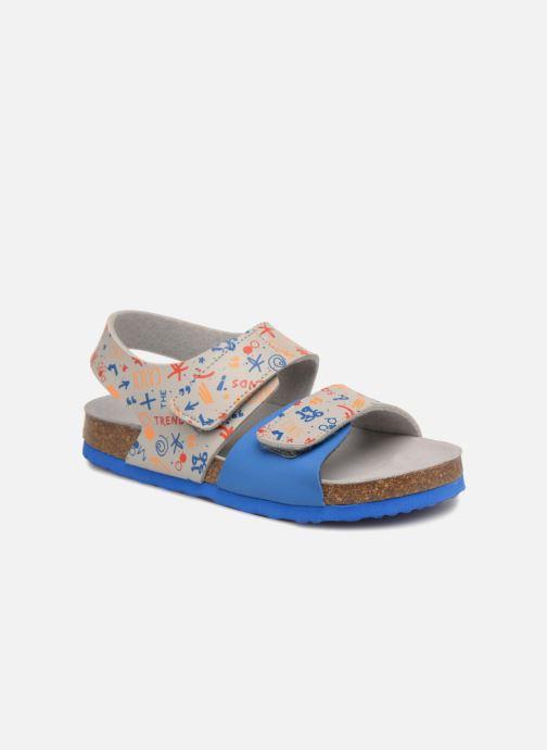 Sandales et nu-pieds Mod8 Darkou Gris vue détail/paire