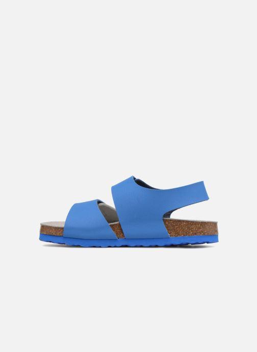 Sandales et nu-pieds Mod8 Darkou Bleu vue face