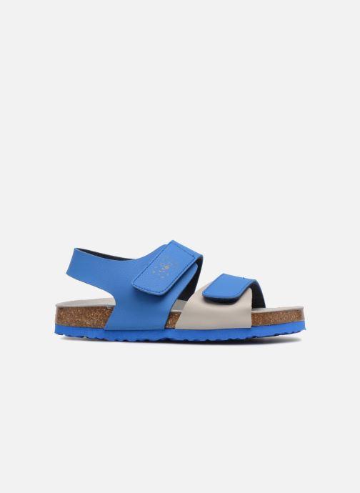 Sandales et nu-pieds Mod8 Darkou Bleu vue derrière