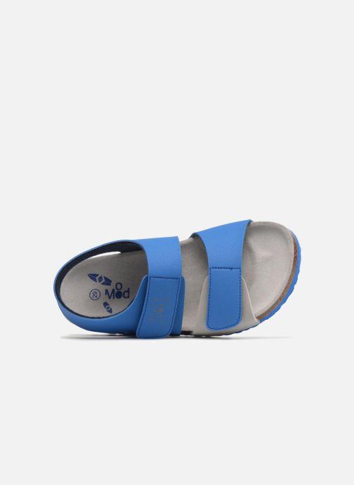 Sandales et nu-pieds Mod8 Darkou Bleu vue gauche
