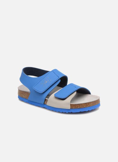 Sandales et nu-pieds Mod8 Darkou Bleu vue détail/paire