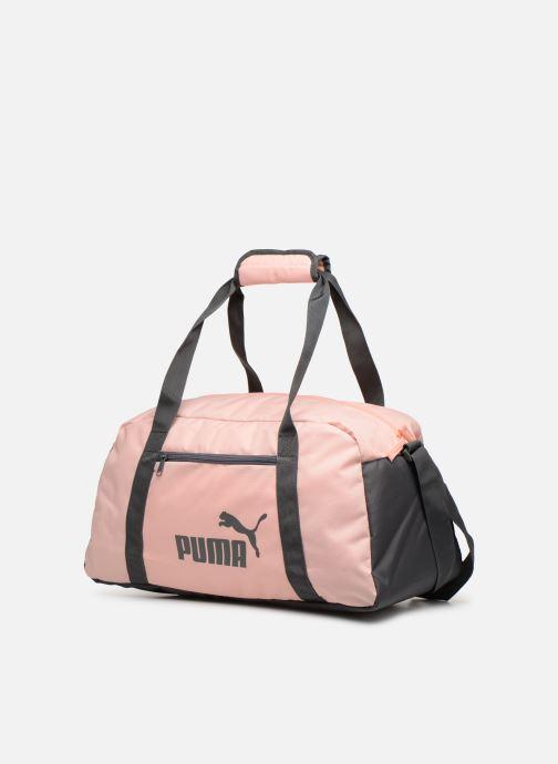 Sacs de sport Puma Phase Sport Bag Rose vue portées chaussures