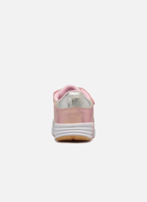 Baskets Peppa Pig Nodde Gris vue droite